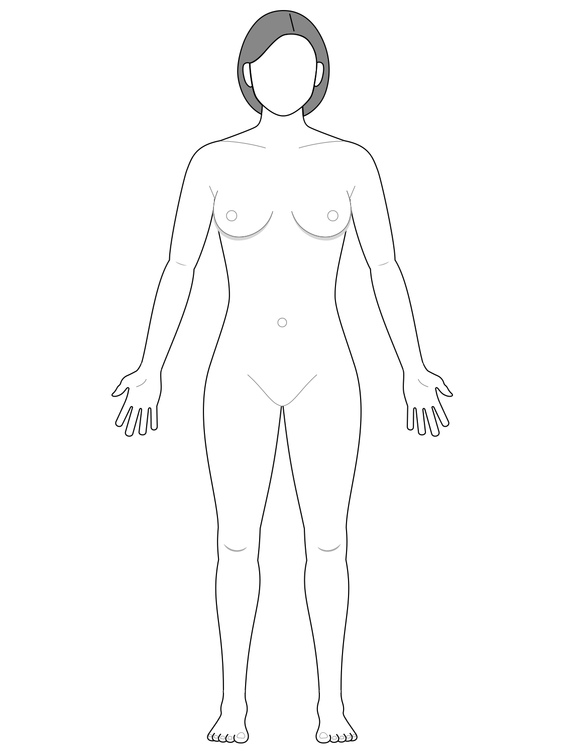 Anatomical position - female